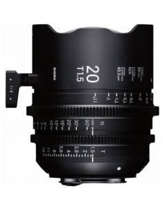 SIGMA 20mm T1.5 FF (selecciona tu montura)