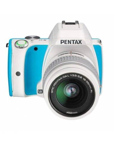 PENTAX KS1 + 18-55 F/3.5-5.6 White/Blue