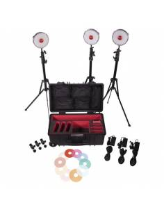 ROTOLIGHT NEO II Kit 3 Uds. + maleta + pies + Filtros RL-NEO-KIT-II