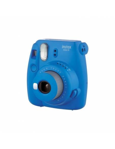 FUJIFILM INSTAX MINI  9 Cobalt blue (KIT: Funda + carga 10 fotos)