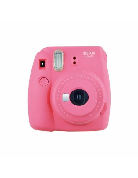 FUJIFILM INSTAX MINI  9 Flamingo PINK (KIT: Funda + carga 10 fotos)
