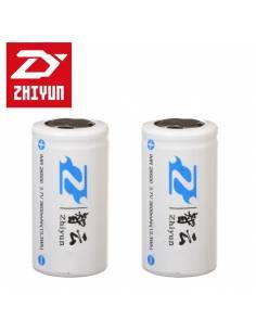 ZHIYUN Baterías 26500 - 3600mAh (pack 2 uds) para Crane V2 y Crane-M