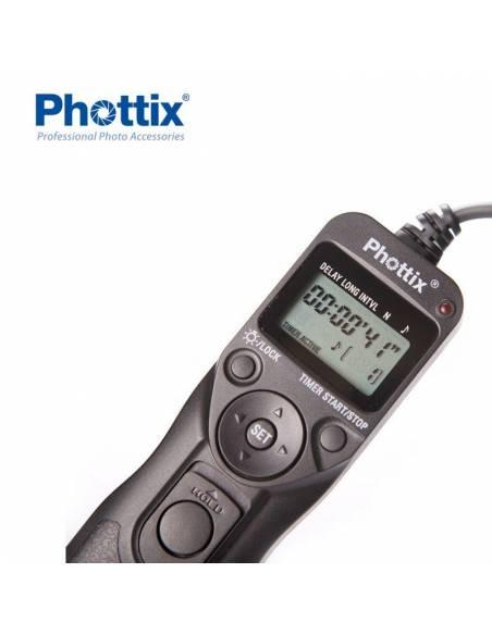 PHOTTIX Disparador por cableTR-90 Para Canon C6 (PX18340)