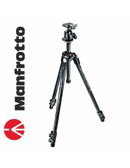 Manfrotto 290 Xtra Carbono + Rótula BH (MK290XTC3-BH)