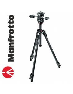 Manfrotto 290 Xtra Carbono + Rótula 3Way (MK290XTC3-3W)