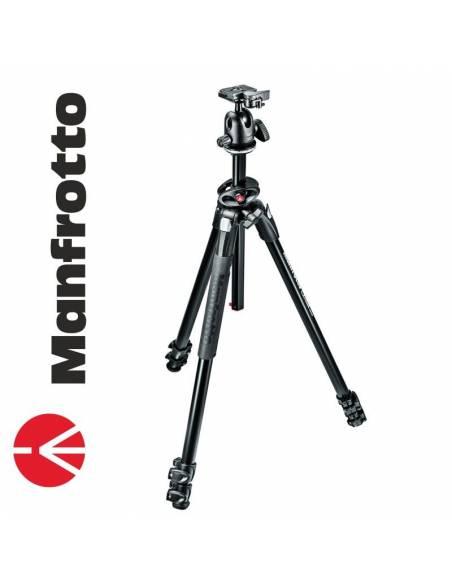 Manfrotto 290 Dual Aluminio + Rótula 3Way (MK290DUA3-3W)
