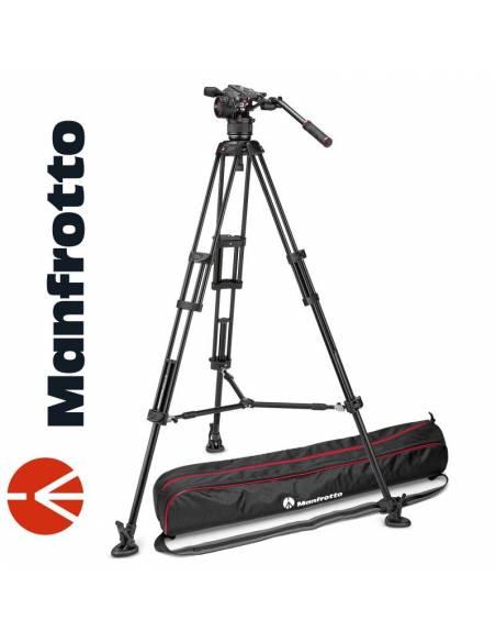 Manfrotto Kit trípode vídeo 546B + Nitrotech N8 MPRO (MVKN8TWINM)
