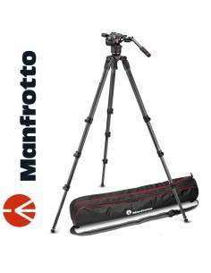 Manfrotto MPRO 535 carbono + rótula Nitrotech N8