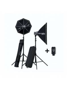 ELINCHROM D-LITE RX ONE SOFTBOX TO GO KIT 2 Uds.