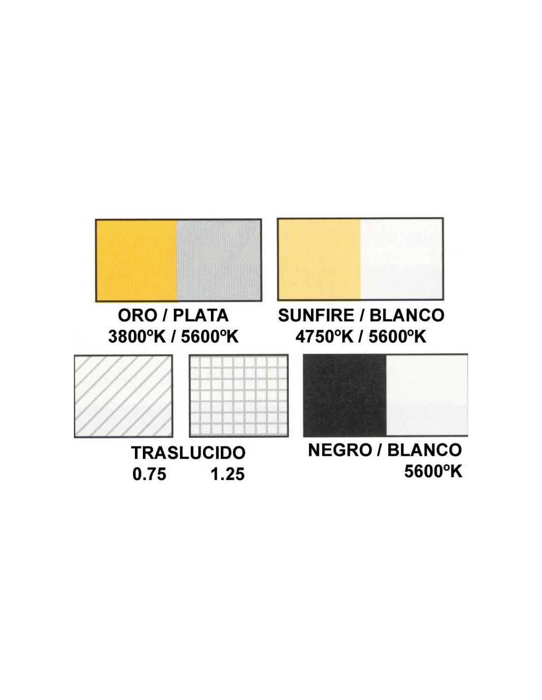 Blanco//Negro Lastolite Skylite 2 x 2 m Tela