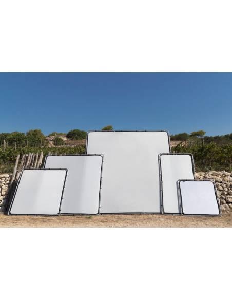 LASTOLITE Marco de aluminio Skylite 3 X 3 m