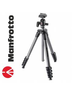 Manfrotto Trípode Compact Advanced Ball-Head Negro-Gris