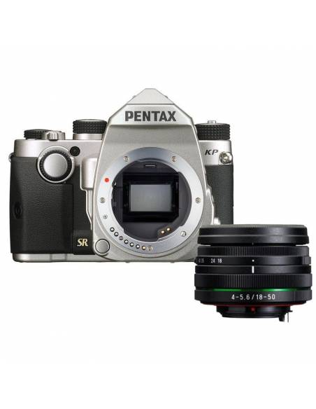 PENTAX KP (silver) + 18-50mm WR