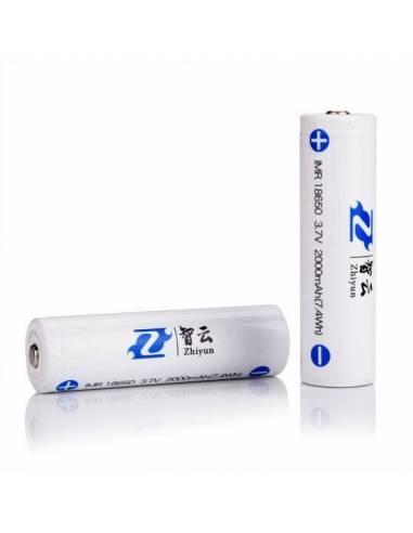 ZHIYUN Baterías 18650 - 2000mAh (pack 2 uds) para Crane 2