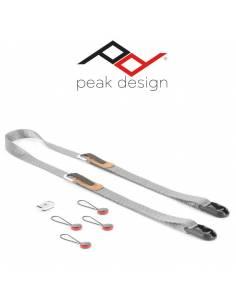 Peak Design Correa delgada LEASH V2 Gris Ceniza LAS3