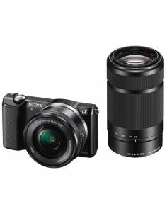 SONY A5000 + 16-50 (Black) + FUNDA + SD 8 GB (ILCE-5000 KIT)