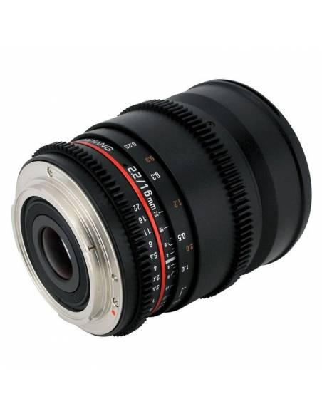 SAMYANG V-DSLR 16mm T2.2