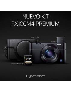 SONY DSC-RX100 IV (DSC-RX100M4) Kit Premium: Funda piel + SD16GB