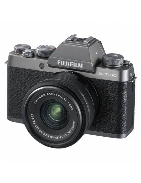 FUJIFILM X-T100 + XC15-45mm Dark Silver