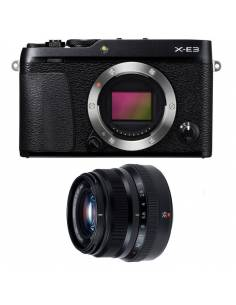 FUJIFILM X-E3 + XF35mm WR F2 Black