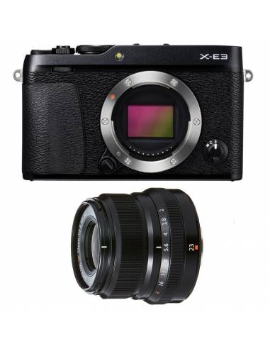 FUJIFILM X-E3 + XF23mm WR F2 Black