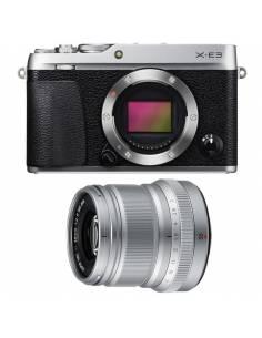 FUJIFILM X-E3 + XF50mm WR F2 Silver