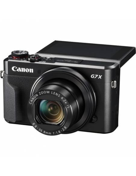 CANON POWERSHOT G7X MARK II +SDHC 16GB+ FUNDA PIEL
