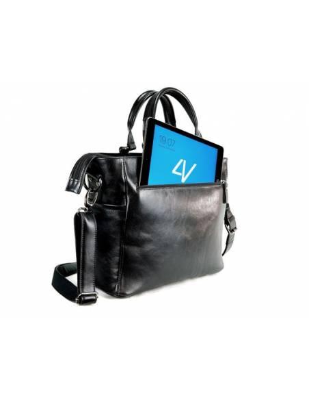 4V Design Bolsa Tote ANNA  Negra VD2ANNA23