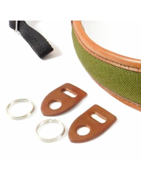 CORREA 4V ALA Verde-Marron (Enganche anillo ALL-CV2723)