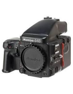 Mamiya M645 pro TL + obj 55 2.8 + 150 3.5