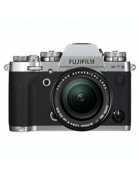 FUJIFILM X-T3 silver +18-55mm F2.8-4
