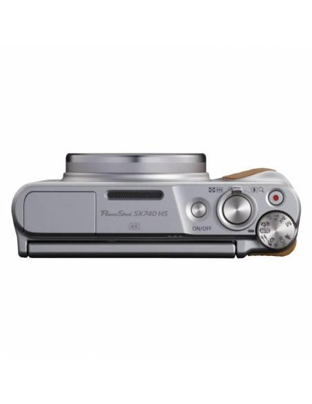 CANON POWERSHOT SX740 HS Silver + FUNDA + TRIPODE (kit travel) 2956C016