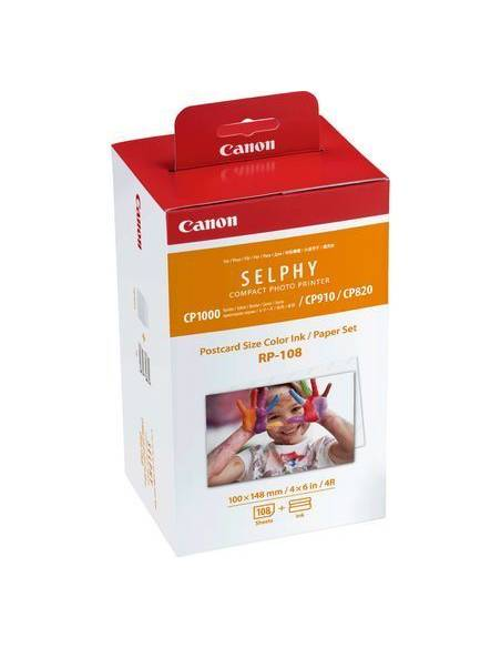 Canon Selphy Papel 108 Fotos KP-108