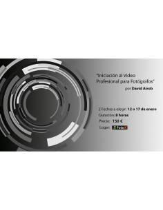 Iniciación al Vídeo para Fotógrafos -- 12 Enero 2019