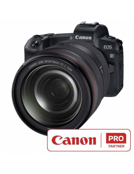 Canon EOS R + RF28-70mm f/2L IS USM Lens + Mount Adapter EF-EOS