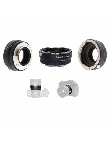 Fringer EF-FX PRO Ver.II, Adaptador de montura Canon a FujiFilm