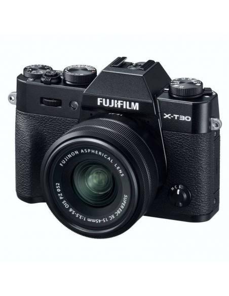 FUJIFILM X-T30 +15-45mm F3.5-5.6 OIS PZ Black