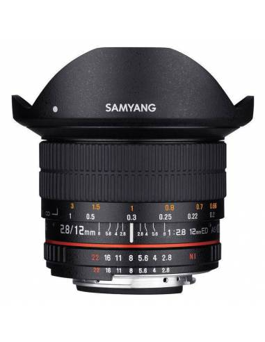 SAMYANG 12mm f / 2.8 ED AS NCS Ojo de Pez (CANON)