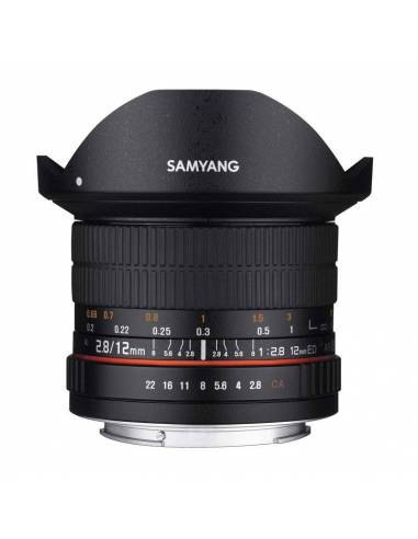 SAMYANG 12mm f / 2.8 ED AS NCS Ojo de Pez (CANON)