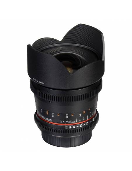 SAMYANG 10mm T3.1 ED AS NCS CSII V-DSLR (CANON)