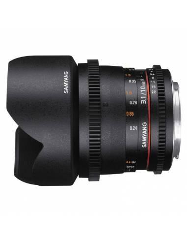 SAMYANG 10mm T3.1 ED AS NCS CSII V-DSLR (CANON)