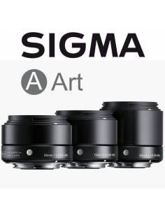SIGMA KIT Art DN: 19mm + 30mm + 60mm F2.8 DN para Micro 4/3 (Olympus/Panasonic) Black