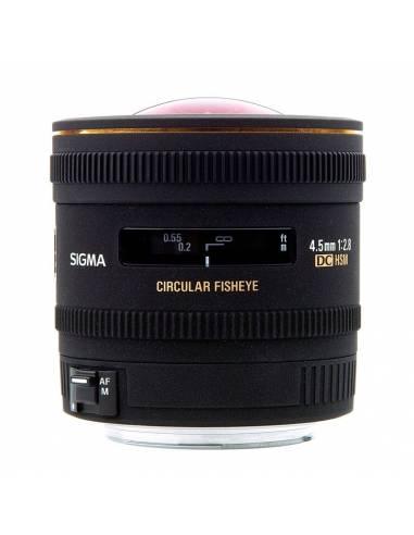 SIGMA 4.5mm F2.8 EX DC HSM FISHEYE  Circular para CANON