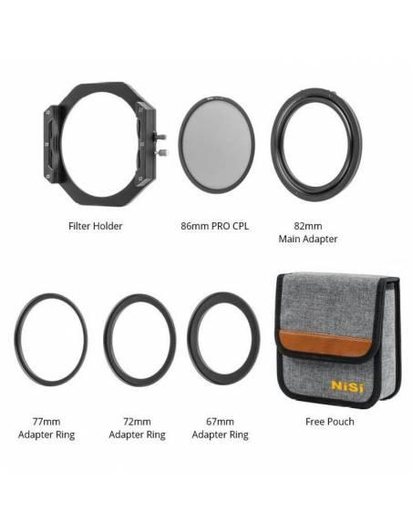 NISI Kit Soporte V6 +Pol.Circ. PRO 86mm | New NS42392