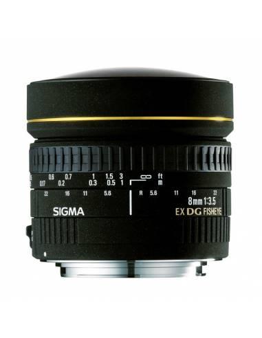 SIGMA 8mm EX DG Ojo de Pez Circular para CANON