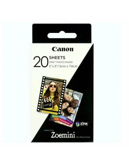 Canon Papel ZinK para Zoemini 20 hojas ZP2030 3214C002