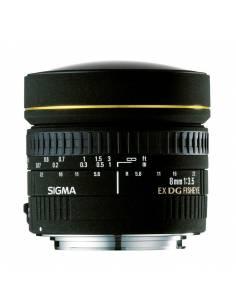 SIGMA 8mm F3.5 EX DG Ojo de Pez Circular para NIKON