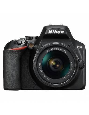 NIKON D3500 + 18-55 AF-P (Incluye E-book + Funda)