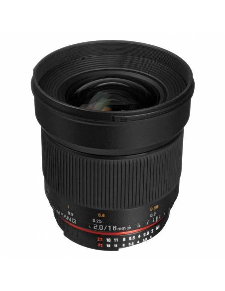 Samyang 16mm f / 2.0 ED AS UMC CS (NIKON AE)