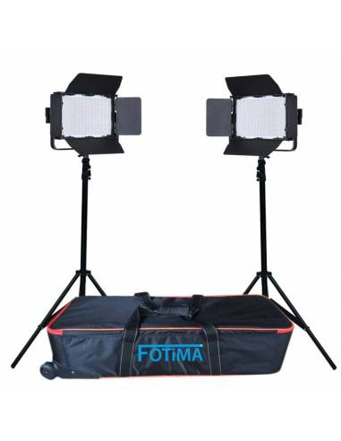FOTIMA KIT ESTUDIO 2 UDS. FTL-1040 + 2 PIES + MALETA (220064)
